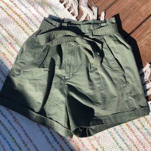 Highwaisted Dressy Shorts